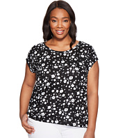 MICHAEL Michael Kors - Plus Size Verbena Eliptical Hem Top