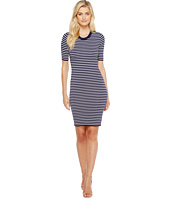 MICHAEL Michael Kors - Short Sleeve Striped Tee Dress