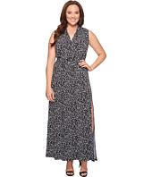 MICHAEL Michael Kors - Plus Size Mini Finy Slit Maxi Dress