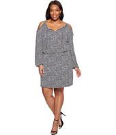 MICHAEL Michael Kors - Plus Size Thora Cold Shoulder Dress