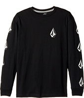 Volcom Kids - Deadly Stone Long Sleeve Tee (Big Kids)