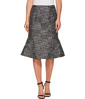 Ellen Tracy - Seamed Flounce Skirt