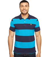 U.S. POLO ASSN. - Yarn-Dye Stripe Pique Polo