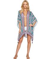 Nanette Lepore - Kimono Patchwork Kimono Cover-Up