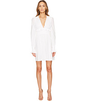 Francesco Scognamiglio - Long Sleeve V-Neck Dress