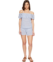 Splendid - Chambray All Day Off the Shoulder Romper Cover-Up
