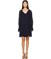 See by Chloe - Jersey Long Sleeve Ruffle Dress