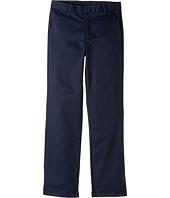 Nautica Kids - Regular Flat Front Twill Double Knee Pants (Big Kids)