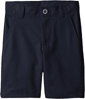 Nautica Kids - Slim Flat Front Twill Shorts (Little Kids/Big Kids)