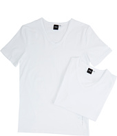 BOSS Hugo Boss - T-Shirt V-Neck 2-Pack CO/EL 10194356 01