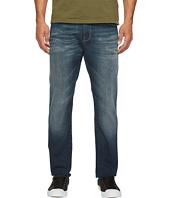 Mavi Jeans - Marcus Slim Straight Leg in Mid Used Destroyed