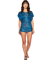 Lucky Brand - Batik Chic Knit Shirred Tunic Cover-Up