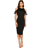 Christin Michaels - Macy Sleeveless Lace Ruffle Dress