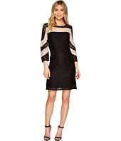 Christin Michaels - Hazel Two-Tone Lace Dress