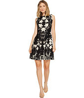 Christin Michaels - Chantelle Sleeveless Fit and Flare Dress
