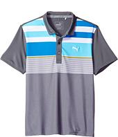 PUMA Golf Kids - Road Map Asymmetrical Polo JR (Big Kids)