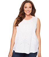 Lucky Brand - Plus Size Embroidered Shell