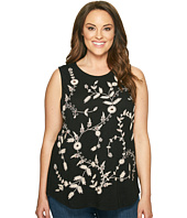 Lucky Brand - Plus Size Embroidered Tank Top