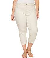 NYDJ Plus Size - Plus Size Alina Capris in Clay