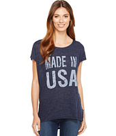 Allen Allen - Made in USA Cap Sleeve Tee