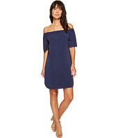 Allen Allen - Short Sleeve Off the Shoulder Dress