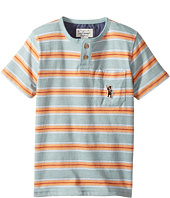 Lucky Brand Kids - Long Beach Henley Top (Toddler)