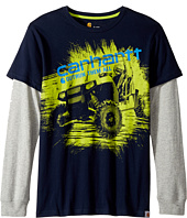 Carhartt Kids - Outrun Them All Quad Tee (Big Kids)