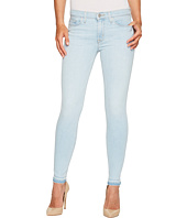 Hudson - Nico Mid-Rise Ankle Super Skinny w/ Released Hem Five-Pocket Jeans in Bliss