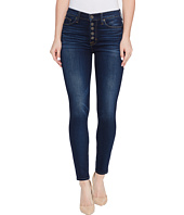 Hudson - Ciara High-Rise Ankle Super Skinny Buttonfly Five-Pocket Jeans in Charmed