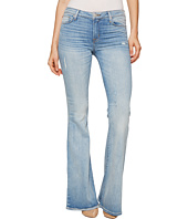 Hudson - Mia Five-Pocket Mid-Rise Flare Jeans in Aura