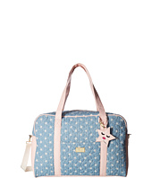 Luv Betsey - Cruisn Star Print Weekender With A Pass Through On the Back