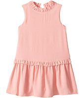 Kate Spade New York Kids - Ruffle Collar Dress (Toddler/Little Kids)