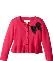Kate Spade New York Kids - Peplum Cardigan (Toddler/Little Kids)