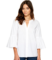 1.STATE - Bell Sleeve Button Down Blouse