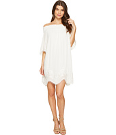 1.STATE - Off Shoulder Embroidered Shift Dress