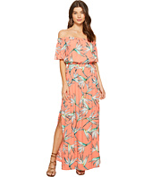 1.STATE - Off Shoulder Maxi w/ Drawstring Waist