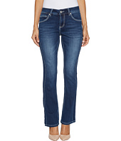 Jag Jeans Petite - Petite Bianca Boot Platinum Denim in Bucket Blue