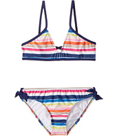 Splendid Littles - Watercolor Horizon Bralette & Hipster w/ Ties (Big Kids)