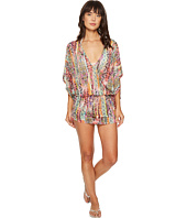 Luli Fama - My Way Cabana V-Neck Dress Cover-Up