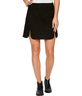 Stetson - Goat Suede Scalloped Skirt