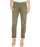 7 For All Mankind - Josefina Jeans w/ Destroy in Olive