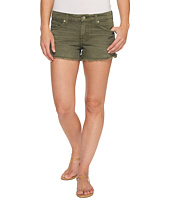 7 For All Mankind - Cut Off Shorts in Olive