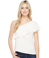 7 For All Mankind - One Shoulder Ruffle Top