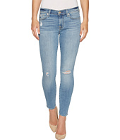 7 For All Mankind - Ankle Skinny Jeans w/ Squiggle & Destroy in Willow Ridge 2