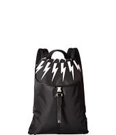 Neil Barrett - Fair Isle Nylon Backpack