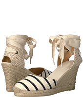 Soludos - Striped Tall Wedge