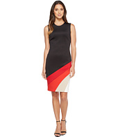 Calvin Klein - Color Block Bottom Sheath Dress