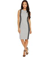 Calvin Klein - Patterned Jacquard Sheath Dress