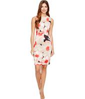 Calvin Klein - Floral Print Sheath Dress