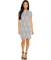 Calvin Klein - Printed Short Sleeve Dress